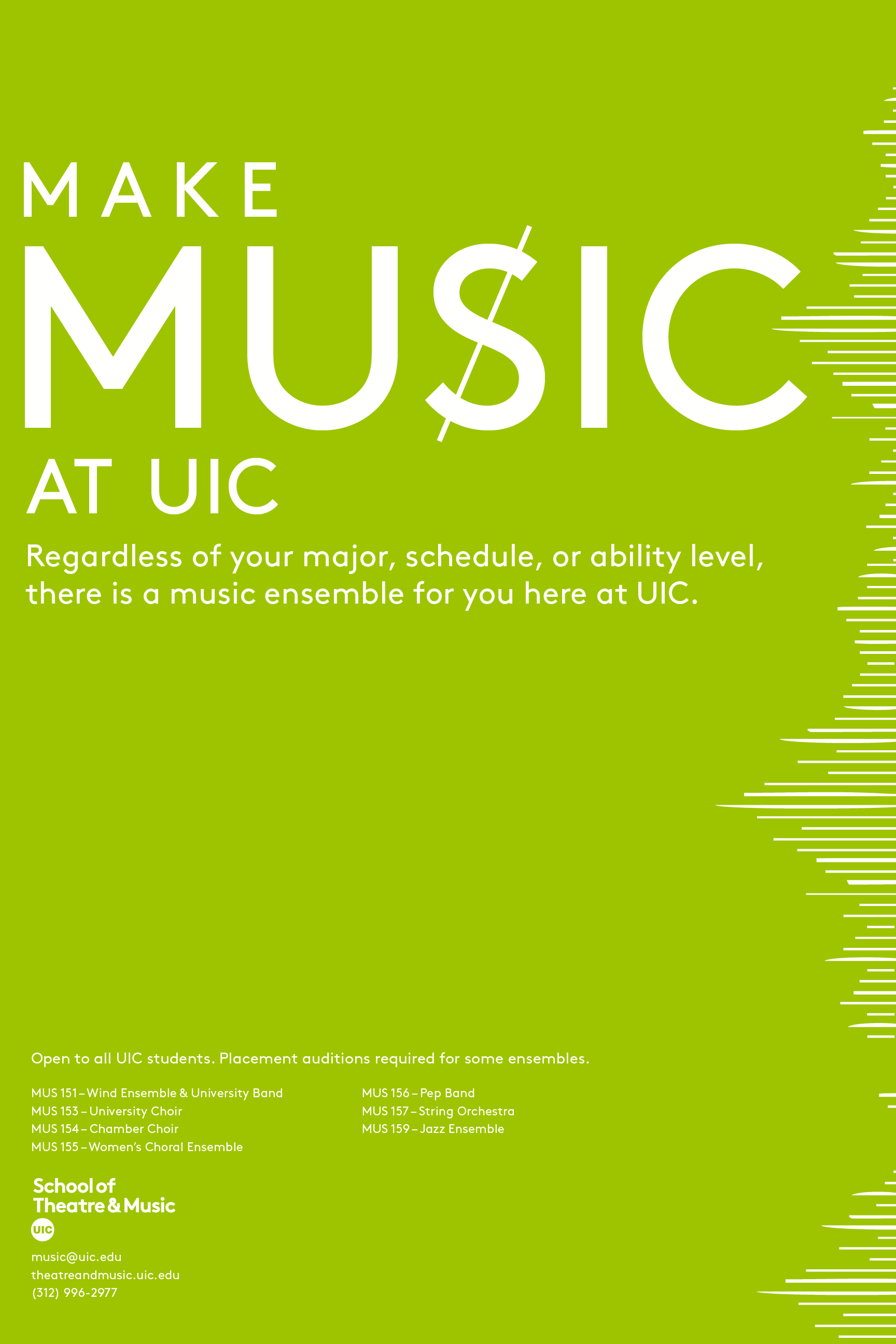 make music poster series sarah sommers design